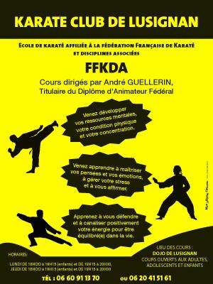Affiche FFKDA