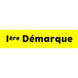 """Bandeaux fluo """"1ère démarque"""" JAUNE 1"""