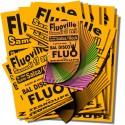 Pack affiches fluo Modulo ORANGE