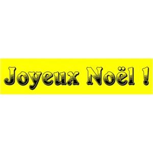Spécial fête de noël - bandeaux fluo-18-60cm-JAUNE