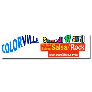 Impression bandeaux en couleur sur Monaffichefluo.com
