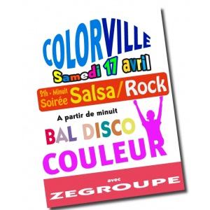 Affiches et posters en couleur (Quadrichromie)