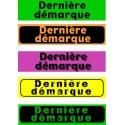 """Bandeaux fluo """"Dernière démarque"""" 18-60cm"""