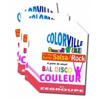 impression 100 affiches en couleur (Quadrichromie)