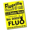 Affiches fluo A0 - 90X120 cm. de 5 à 500 exemplaires