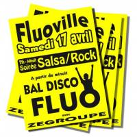 Pack affiches fluo XS