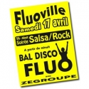 Affiches fluo A3 - 30/40cm.