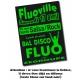 Affiches fluo A0 - 90x120 ou 84X120 cm. de 5 à 500 exemplaires