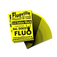 100 affiches fluo 45X60 cm (A2) J
