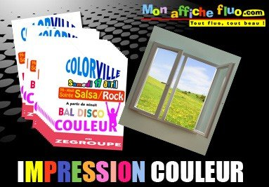 Impression couleur